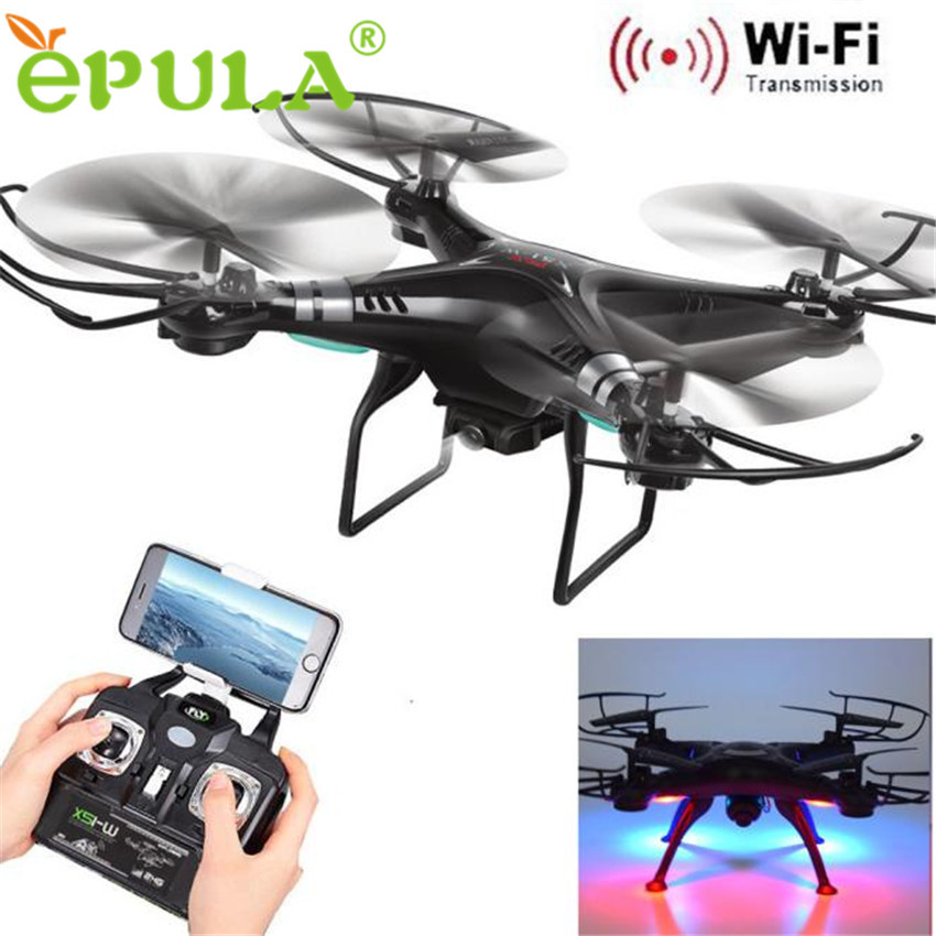 X5SW-1 Wifi FPV RTF 2.4G 4CH RC Black quadcopter Camera Drone with HD Camera UAV1