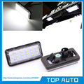 Error Free White Car LED Number License Plate Light Kit For Lexus LX470 GX470 Toyota Land Cruiser 120 Prado Land Cruiser 200