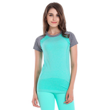 Women Bodybuilding Yoga Fitness Sports T-Shirt