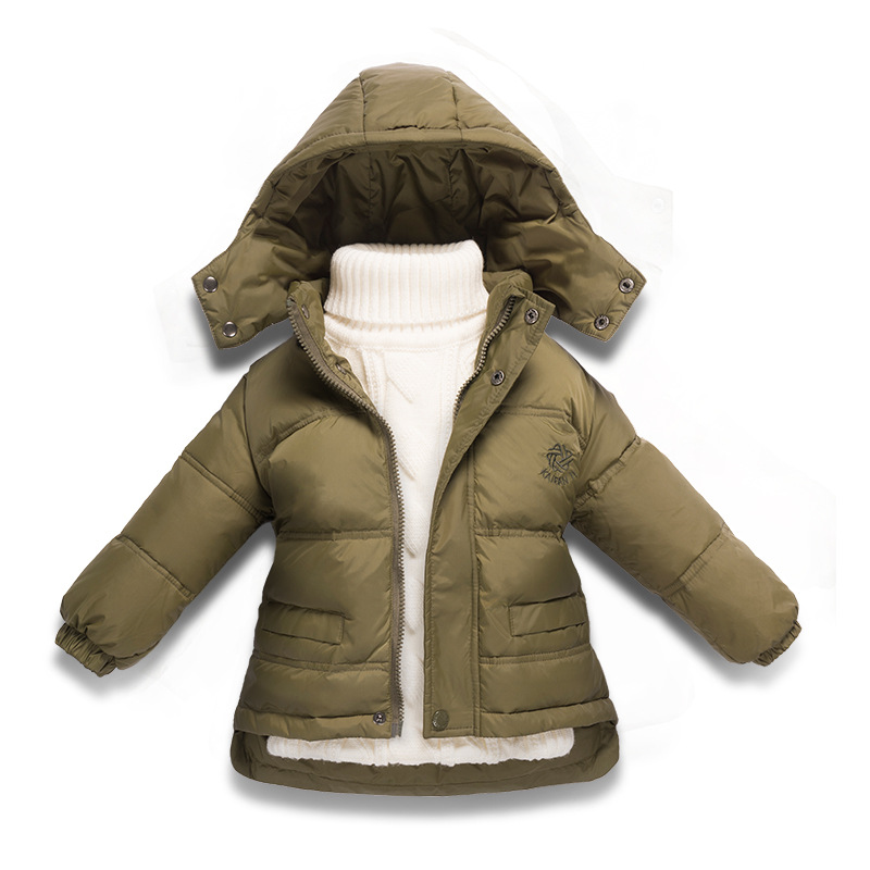 New 2017 thick coats for girls clothing children coats 2-8 years parka snow wear 6 colours children clothing girl boys outerwear 2017 new coats