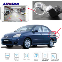 LiisLee Rear View Camera For Suzuki Aerio Liana CCD Night Vision Reverse Camera backup camera Licence plate camera