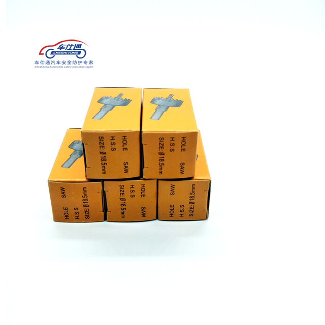 5 قطعة كربيد تلميح التدريبات بت ثقب المنشار ل وقوف السيارات الاستشعار الفولاذ المقاوم للصدأ سبيكة معدنية 18.5mm5974
