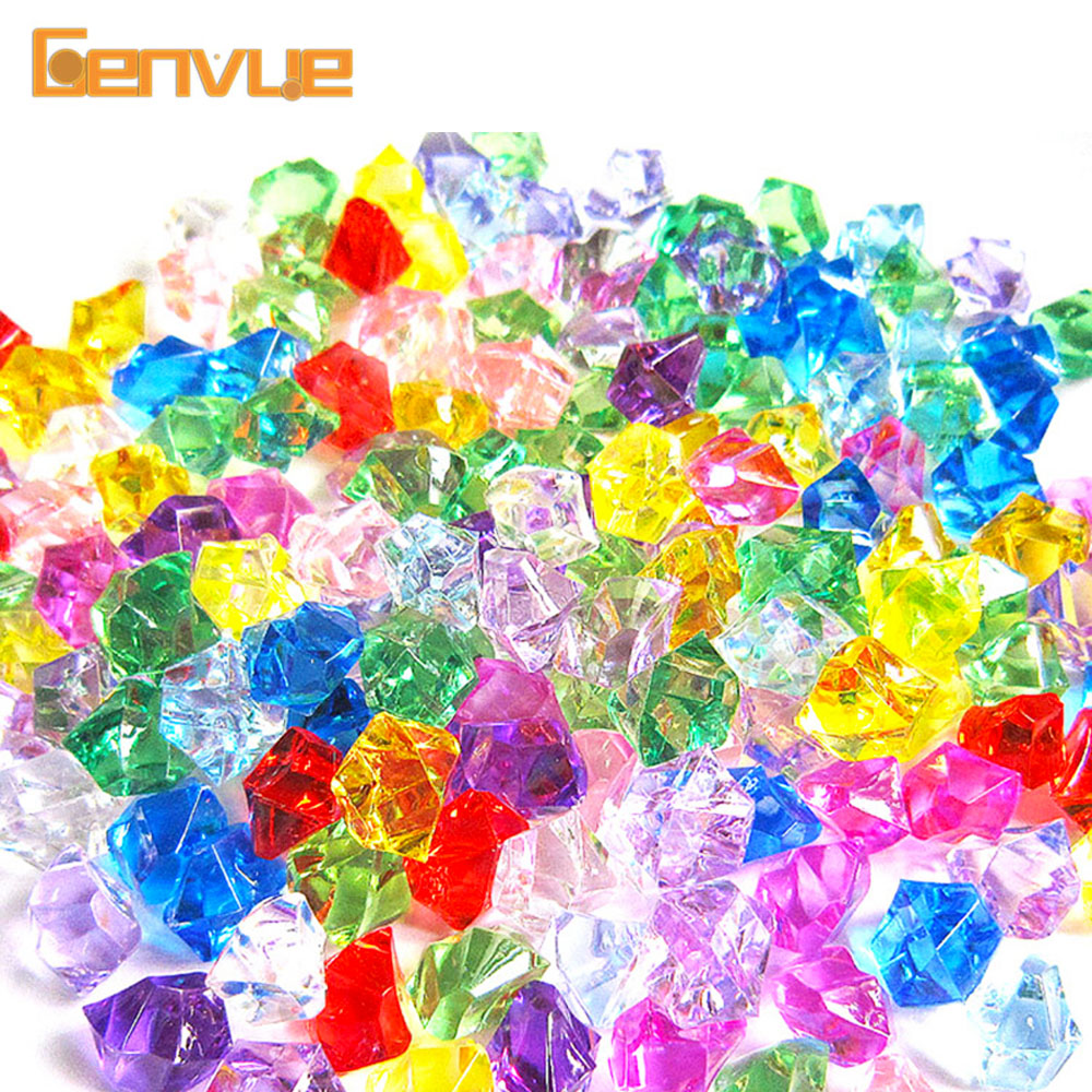 Colorful Crystal Stone Beads Slime Supplies Charms Filler Addition For Slime Lizun DIY Decoration Accessories Antistress Toys