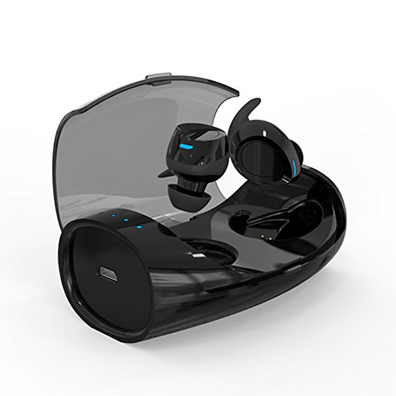 Bluetooth 4.2 Wireless Earphones TWS In Ear Stereo Bass Earphone Sports Headset with Mic with Charging Box Bluetooth Earbuds zealot bluetooth headphones wireless earphone bluetooth eeabuds stereo headset in ear handsfree sports earphones with mic