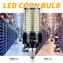 E14 LED Light Corn Bulb E27 LED Lamp 220V Lampada Led Bombillas 110V 5736SMD 3.5W 5W 7W 9W 12W 15W 20W No Flicker Home Lighting e27 led lamp corn light e14 led bulb 220v lampada inteligente bombillas led b22 85 265v home lighting 3 5w 5w 7w 9w 12w 15w 20w
