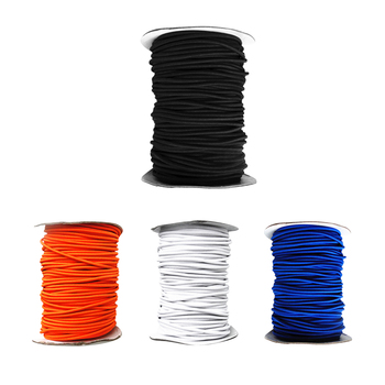 4mm Diameter Elastic Rope Shock Cord Strech String with Various Colors Choose from 1/ 3/ 5/10 Meters For Boats Kayaks Caravans image
