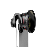 Nulaxy Universal 16 mm Super Wide Angle Lens Mobile Phone Lens Fisheye Camera Zoom Lens CPL Filter For Smartphone Microscope