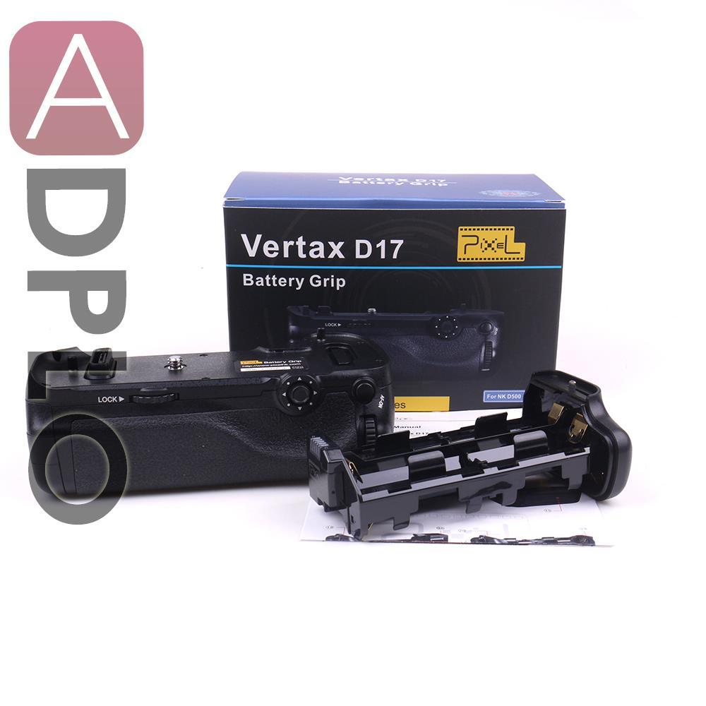 Pixel Vertax D17 Professional Battery Grip Suit for Nikon D500 DSLR camera