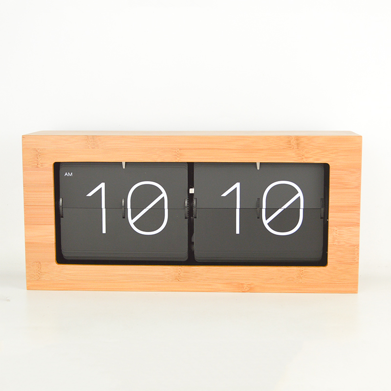 Bambou bois mouvement silencieux variété de facultatif salon étude chambre bureau machines quartz horloge cadeau