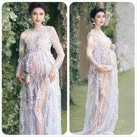 Maternity Photography Props Pregnancy Long Dresses for Pregnant Women Maternity Dress Evening Romantic Photo Shoot