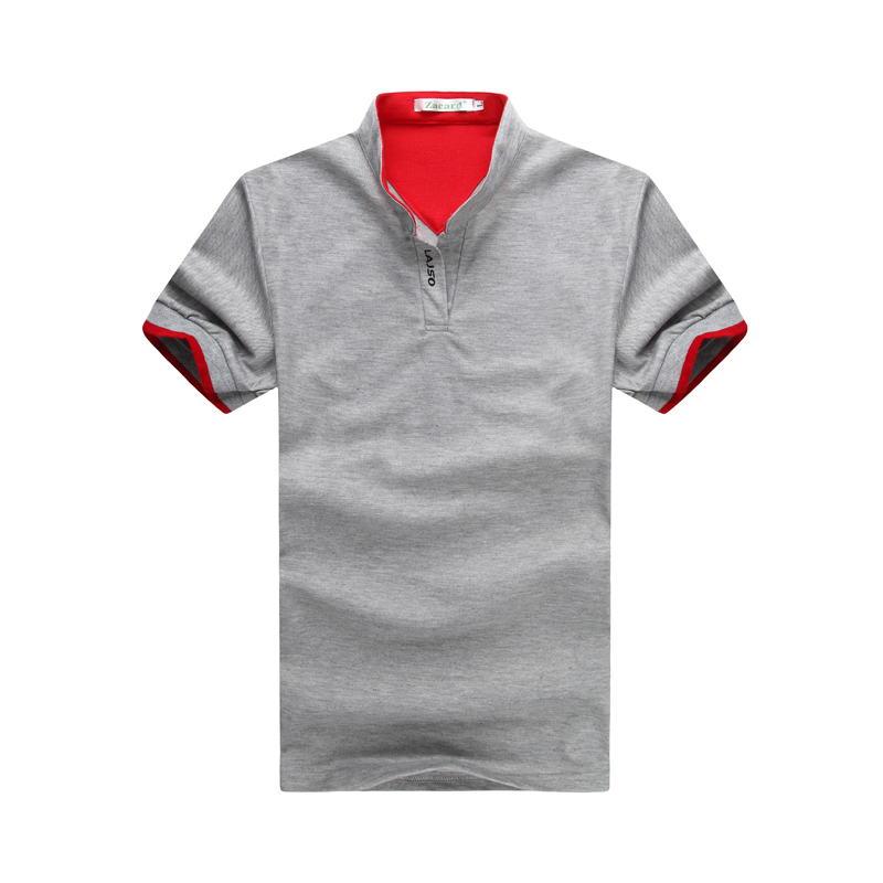 Mutter & Kinder 2019 Männer Polo-shirt Marke Männer Kurzarm Beiläufige Dünne Monochrome Deer Gestickte Polo Hemd Gut FüR Antipyretika Und Hals-Schnuller