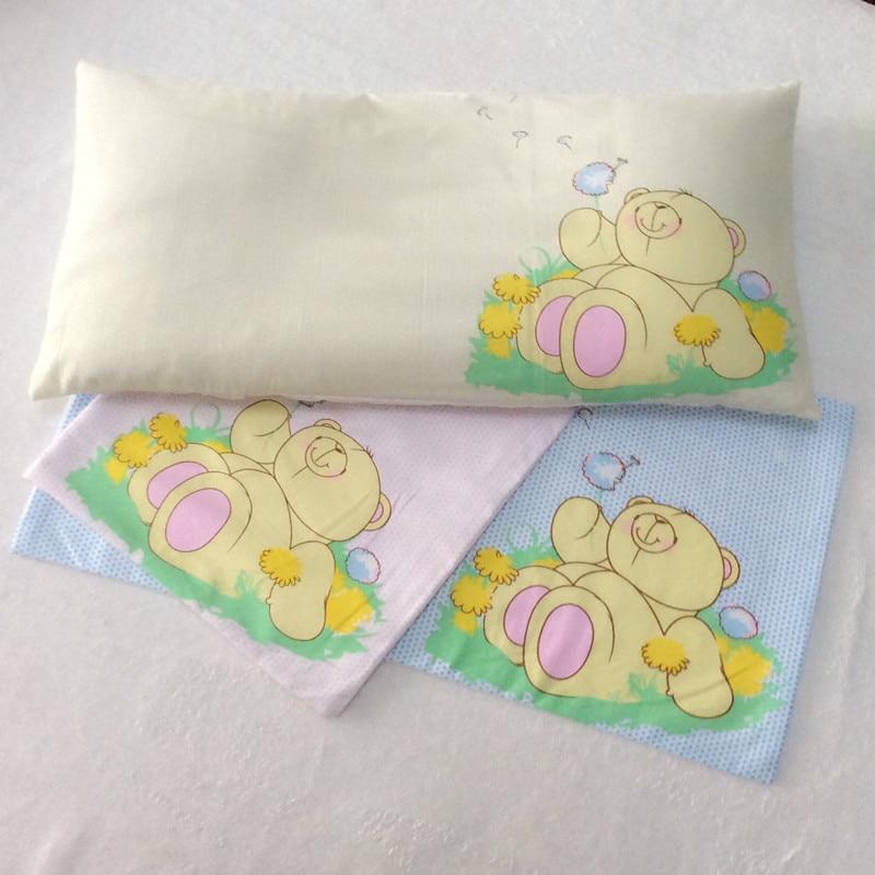 ФОТО 1pc Cartoon Pattern Baby Shaping Pillow 3color Select Babies Boys Girls Cute Pillows Semen Cassiae Buckwheat Free Shipping