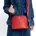 Kiitos life romance shell pu messenger bags para meninas originalmente concebido (fun kik)