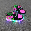 Colorful LED Lights Shoes Girls Boy Children Sneaker Spring Kids Sneakers Enfant  Flash Sneakers Baby Hot Gift Luminous