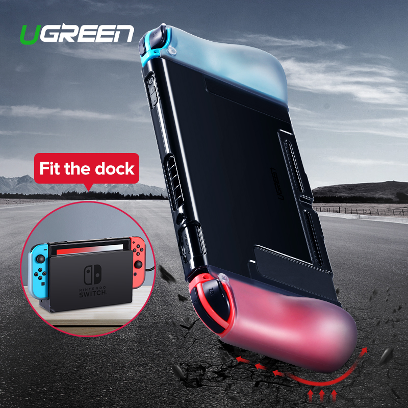Ugreen For Nintend Switch Case Protective Fit Charger Dock Soft Silicone Anti-drop Nintendos Switch Case For Nintend SwitchUgreen For Nintend Switch Case Protective Fit Charger Dock Soft Silicone Anti-drop Nintendos Switch Case For Nintend Switch