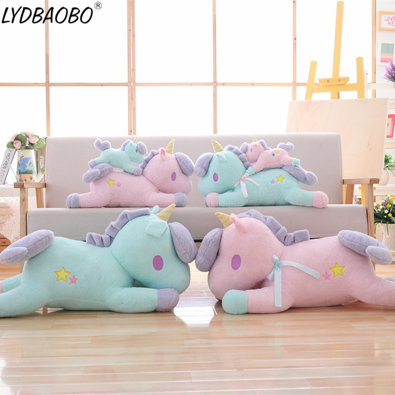 1pc Kawaii Unicorn Stuffed Plush Doll Lovely Unicorn Animal Toy Baby Soft Infant Appease Pillow Doll Children Kid Birthday Gifts|Stuffed & Plush Animals| |  - title=