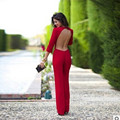long sleeve bodysuit combinaison femme sexy red jumpsuits loose jumpsuit elegant jumpsuits backless bodysuit elegant jumpsuit 10