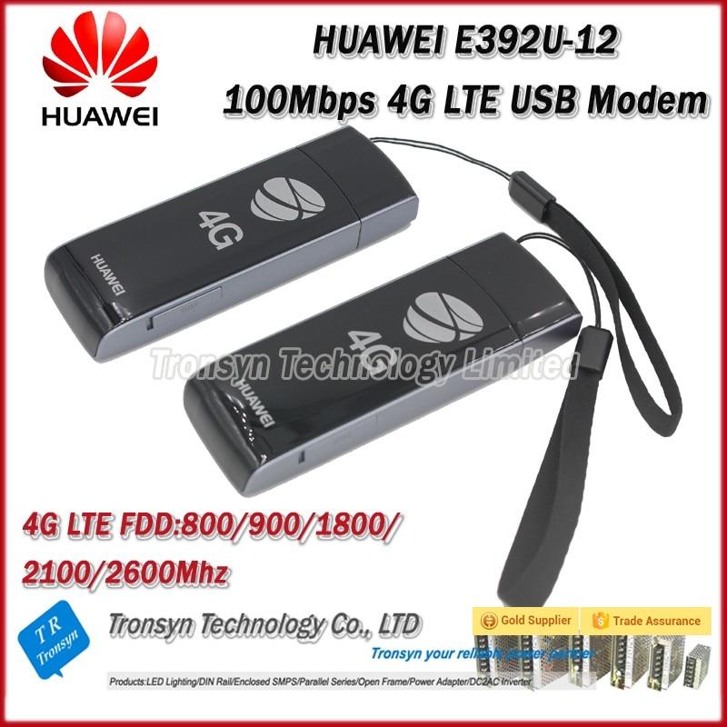 Wholesale Original Unlock 100Mbps HUAWEI E392 4G LTE USB Modem Support LTE FDD B1 B3 B7 B8 B20
