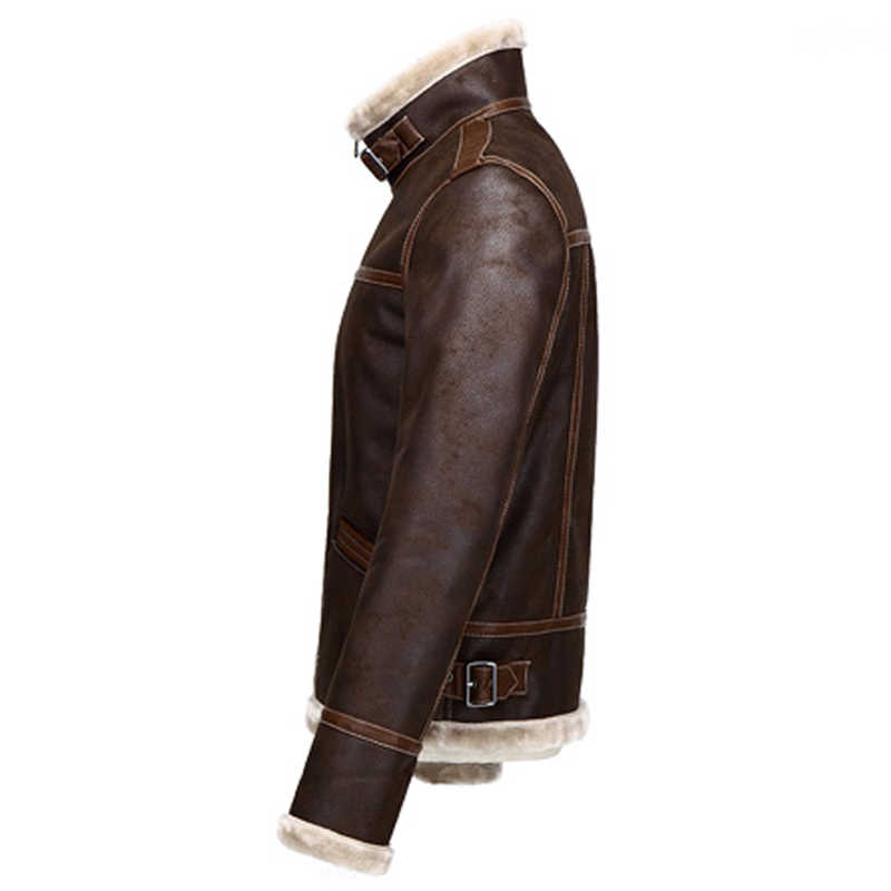 c4347c8ba1c ... DIY Game Clothing Hot Fashion 4XL Faux Fur Leather Jackets and Coat  Resident Evil Lyon Leather ...