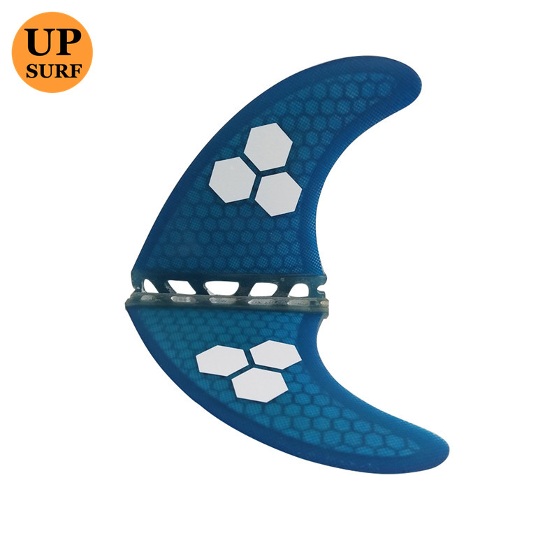 Surf Future Fins Blue Honeycomb Fin M Өлшемі Surfboard Fin - Су спорт түрлері - фото 2