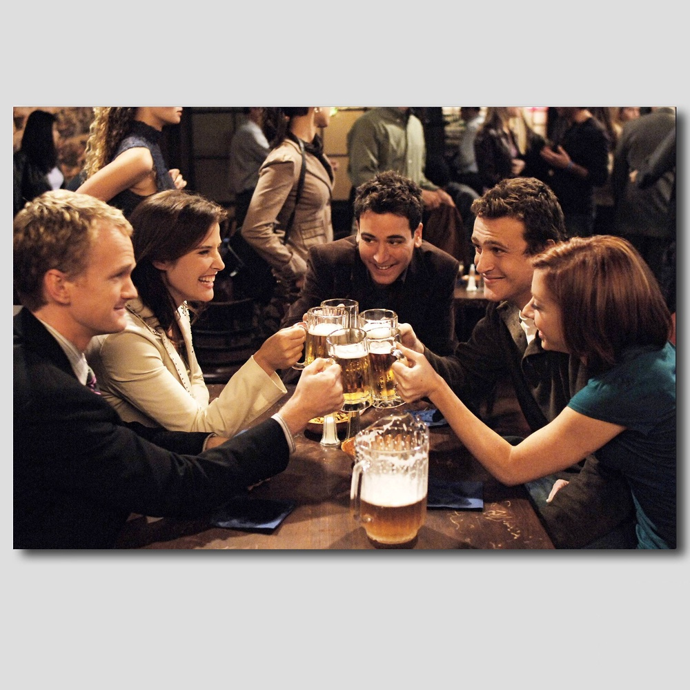 New How I Met Your Mother Barney Stinson Chanllenge Accepted Quality ...