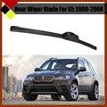 Автомобилей Мягкие Резиновые Щетки Стеклоочистителя Заднего Стекла Лобовое Стекло Без Рамы Для BMW X5 2000-2006