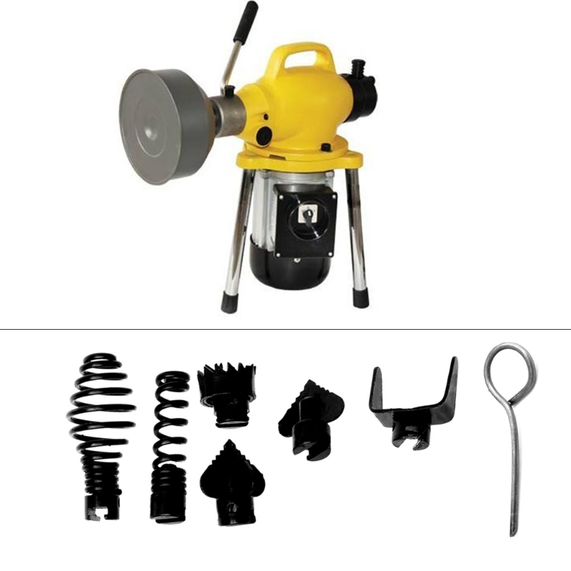 7Pcs 16mm Manganese Steel Drain Cleaner Combination Cutter Head Set For Dredger SEP03 Drop Shipping