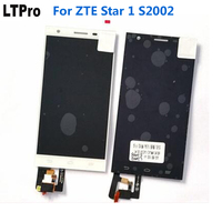 100 Warranty Working LCD Display Touch Screen Digitizer Assembly For ZTE Star 1 S2002 Star1 Mobile