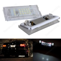2X Led License Plate Lamps For 3 Series E46 4D 5D 98 05 Car Accessories Car
