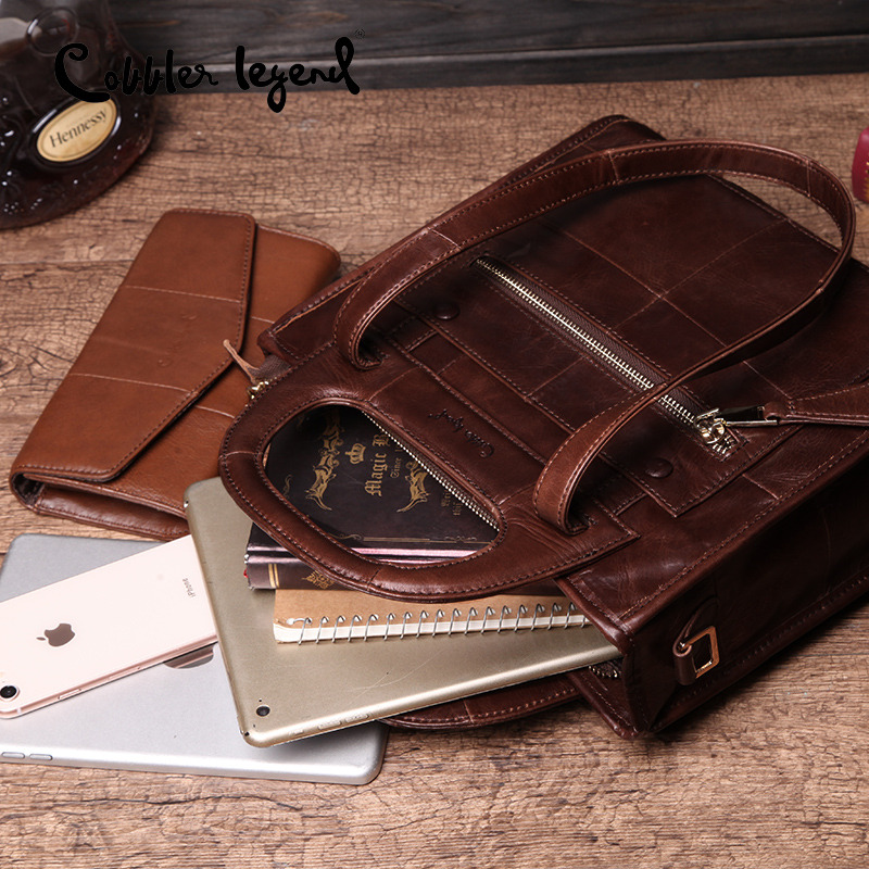 Bagaj ve Çantalar'ten Üstten Saplı Çanta'de Ayakkabıcı Efsane Ünlü Marka Hakiki deri çantalar Kadın Çanta Kadınlar için 2019 çapraz postacı çantası Tote Lady El Çantası'da  Grup 2