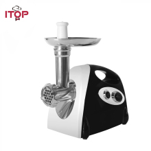 ITOP Household Electric Meat Grinder Kitchen Chopper Mincing Machine With 3 Cutting Plates Sausage Stuffer 110V/220V