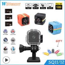ФОТО sq11 sq12 sq10 mini camera waterproof degree wide-angle lens hd 1080p wide angle sq 12 mini camcorder dvr sq 11 sport video cam
