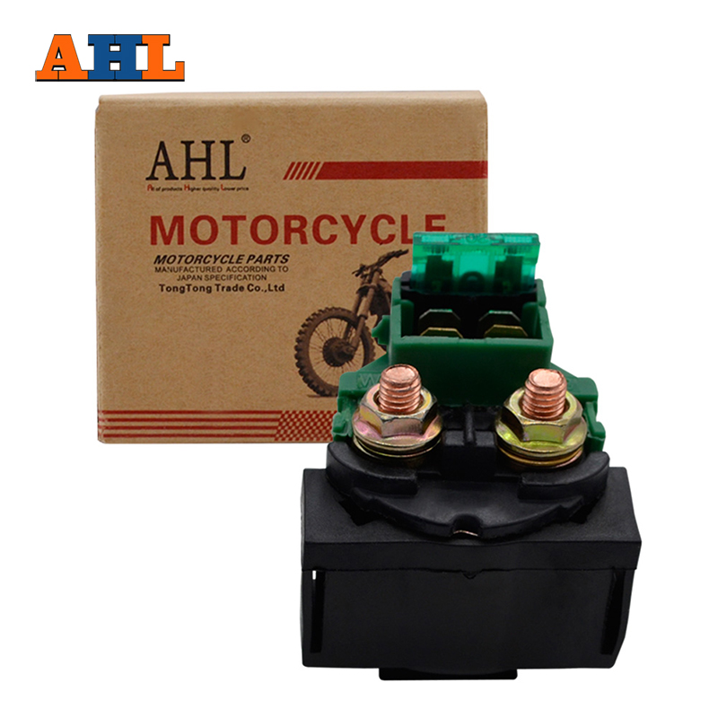 AHL Motorcycle Starter Solenoid Relay Lgnition Key Switch For Honda GL1200 Goldwing Interstate