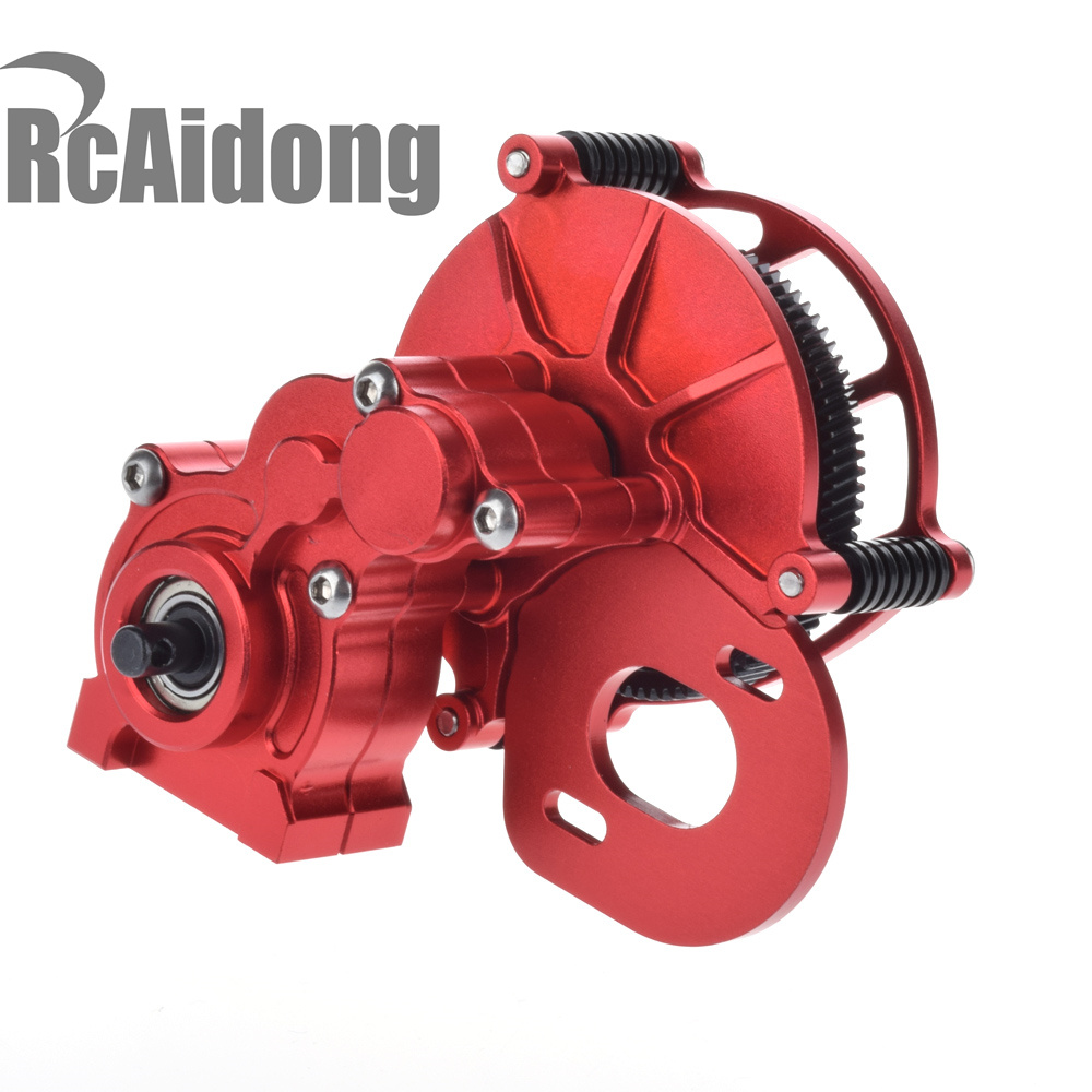Transmission Case Center Gearbox for 1/10 RC Crawlers Cars Axial SCX-10 AX10 rot loncin zongshen lifan tricycle motorcycle gearbox or shift gearbox for 150 200cc motorcycle powerful gearbox chuanyu brand