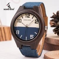 BOBO BIRD Wood Watch Men Women Lover Quartz Movement Wristwatch Causal Sport Stylish Timepiece Gift to Boy friend Girl friend