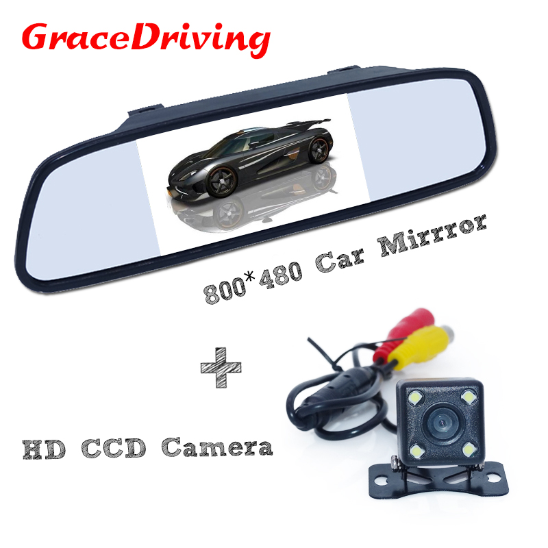 Factory Promotion 1 set universal waterproof car rear view camera with 170 degree Universal 5 car