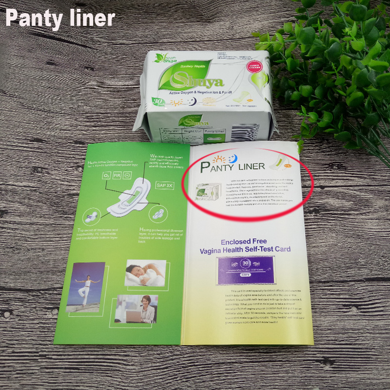 19pack/lot love anion sanitary pads menstrual pads feminine hygiene product  women sanitary napkins	for women's strip