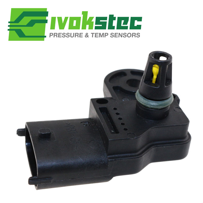 US $16 56 27% OFF|Replaceable Intake Air Temperature Boost Pressure Sensor  For Mack Volvo Truck D11 D13 D16 Engine 22329559 21097978-in Truck Engine