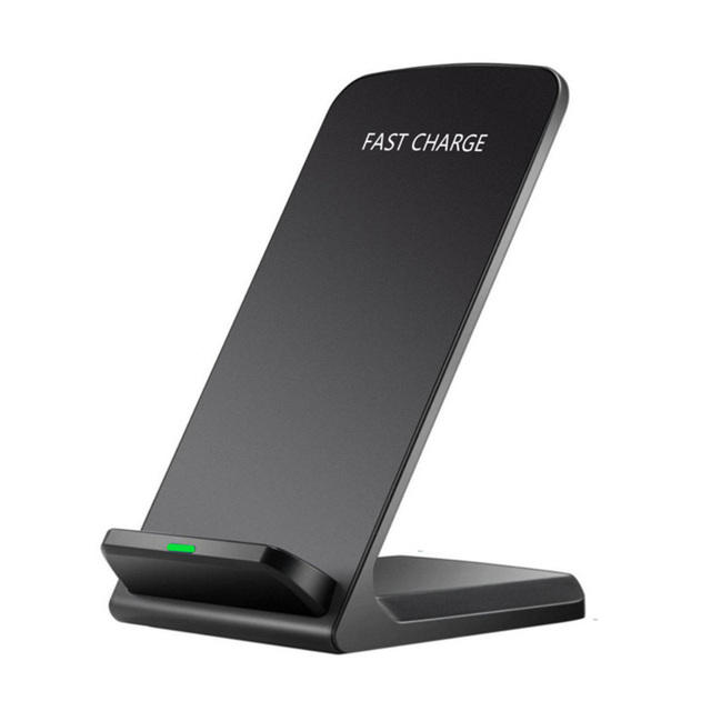 10W Qi Wireless Charger For iPhone X XS Max XR 8 for Samsung S9 S8 Note 9 Fast Wirless Wireless Charging Pad Dock Station Holder