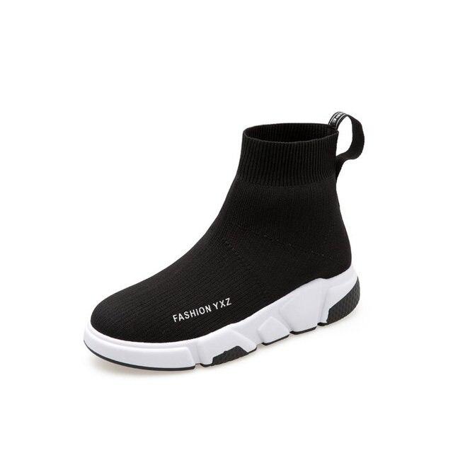Осень-зима 2019 г. Новые Высокие эластичные носки обувь Корейская версия кроссовки для бега дышащие, скользкие портативные 36-40