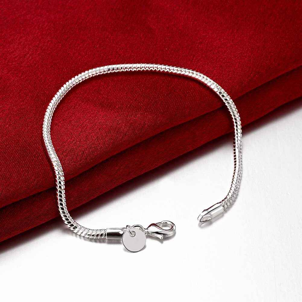 Free shipping 925 sterling silver jewelry bracelet fine fashion bracelet top quality wholesale and retail SMTH187 bracelet
