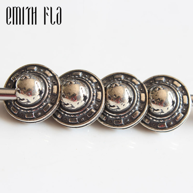 Emith Fla Genuine 925 Sterling Silver UFO Ship Charm Bead Fit Original Bracelet Jewelry Beads for Jewelry Making Silver Bead