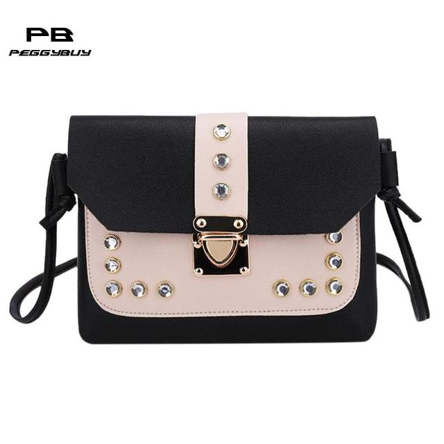 e1b3eacc6b52 Fashion crossbody bags for women leather handbags Mini Messenger Bags  Travel clutch female Totes shoulder bag bolso mujer 2019