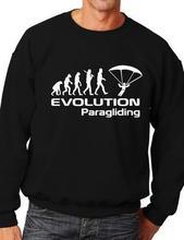 Evolution Of Paragliding Paraglider Sweatshirt Jumper More Size and Color-E139