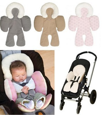 baby pusher protective pad car seat cushion head body protective pad