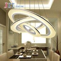 T простой художественный подвесной светильник со светодиодной чипы рыбы Провода Американский acylic лампа для фойе Обеденная кольцо Форма для