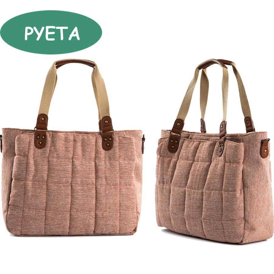 PYETA blöja ryggsäck för baby saker, mamma väska för resor, barnvagn väska / bolsa maternidad väska för babyomsorg