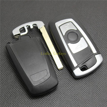 PINECONE Key Case for BMW 3 5 7 Series X3 X5 X6 E90 320 520 730 Buttons Car Remote Shell Cover With Uncut Blade 1PC