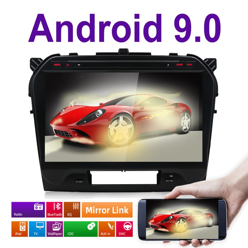 10 1 Android 9 0 Car DVD PC Multimedia DVD Player GPS Navi Stereo Radio Fit