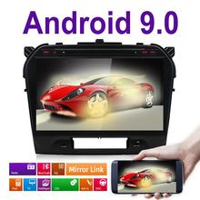 "10.1 ""Android 9.0! Auto DVD PC Multimedia Dvd-speler GPS Navi Stereo Radio Fit SUZUKI GRAND VITARA 2015 2016 2017 2018 3G WIFI BT"